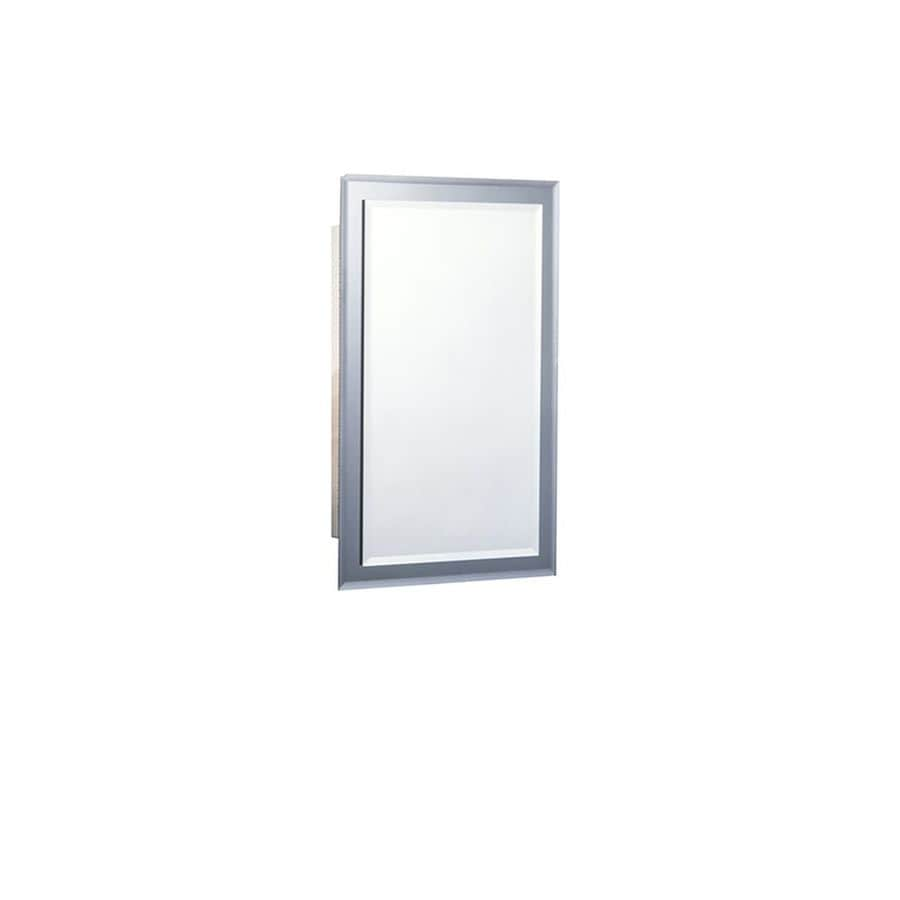 Shop Jensen Mirror On Mirror 16 In X 26 In Rectangle