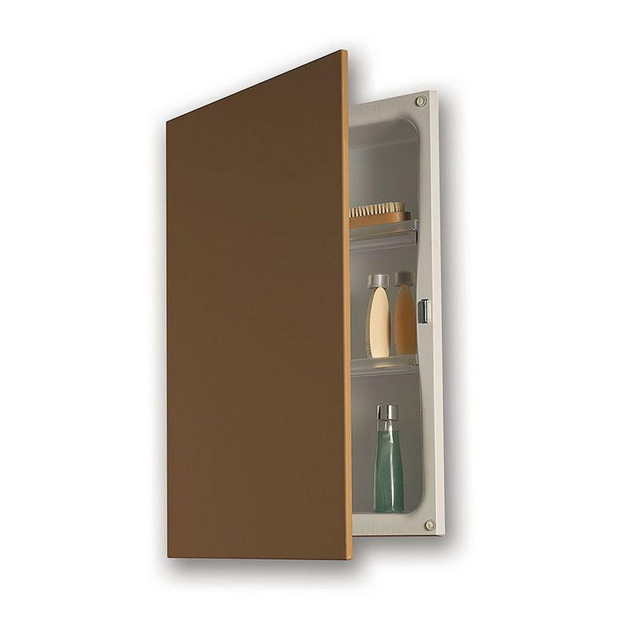 Jensen Hideaway 16.25-in x 21.4375-in Rectangle Recessed Steel Medicine Cabinet