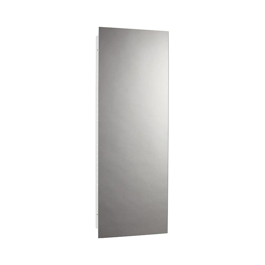 Jensen Illusion 13-in x 36-in Rectangle Recessed Mirrored Steel Medicine Cabinet