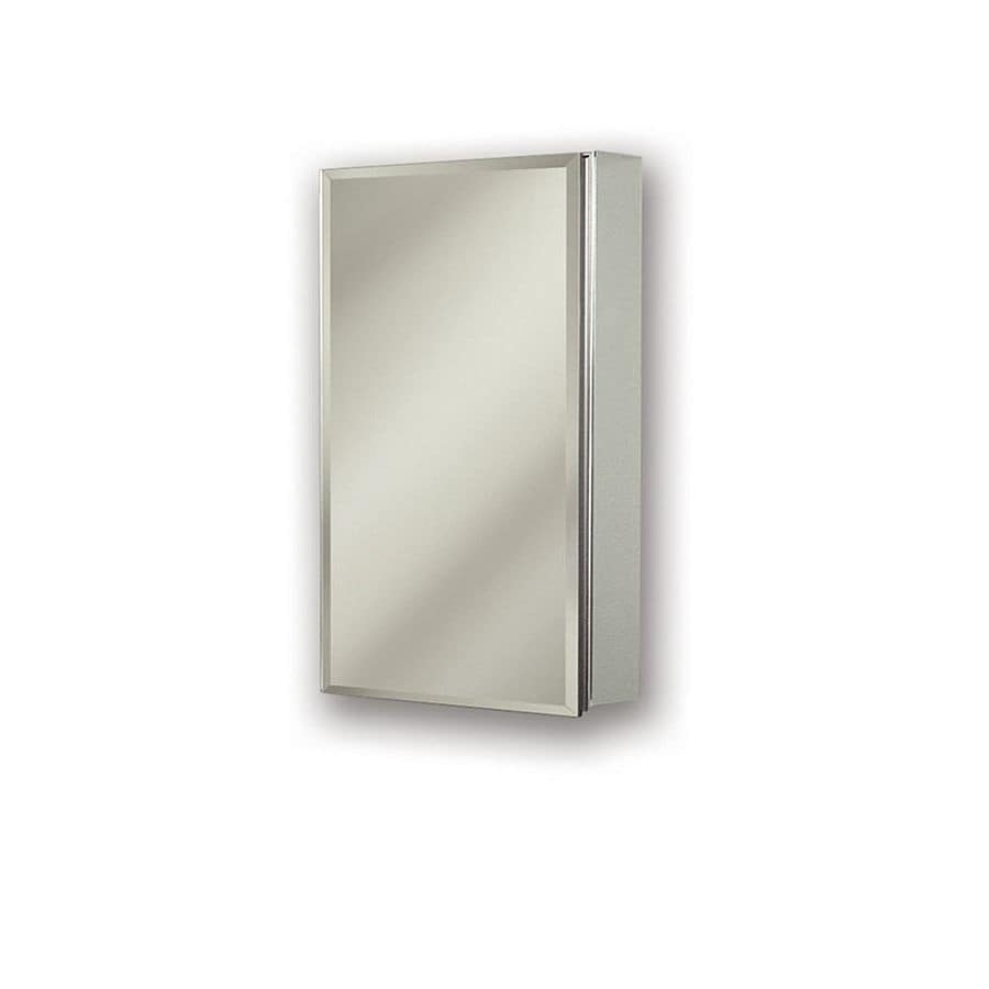 Jensen Gallery 15 In X 25 In Rectangle Surfacerecessed Mirrored