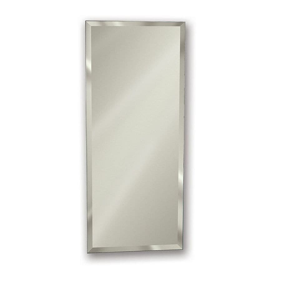 Jensen Gallery 15 In X 35 In Rectangle Surfacerecessed Mirrored