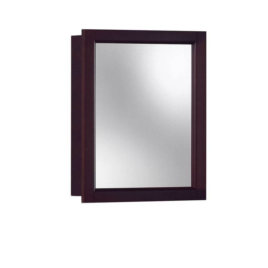 Jensen Sheridan 15 In X 19 In Rectangle Surface Poplar Mirrored  Particleboard Medicine Cabinet
