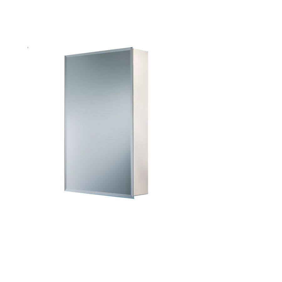 Jensen Horizon 16-in x 22-in Rectangle Surface Mirrored Pvc Medicine Cabinet