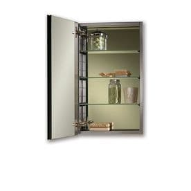 jensen studio iv 15in x 25in rectangle mirrored stainless