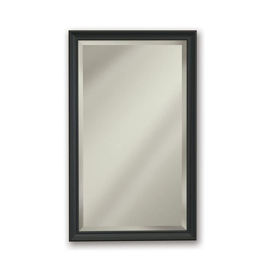 Jensen Studio V 15 In X 35 In Rectangle Surfacerecessed Mirrored