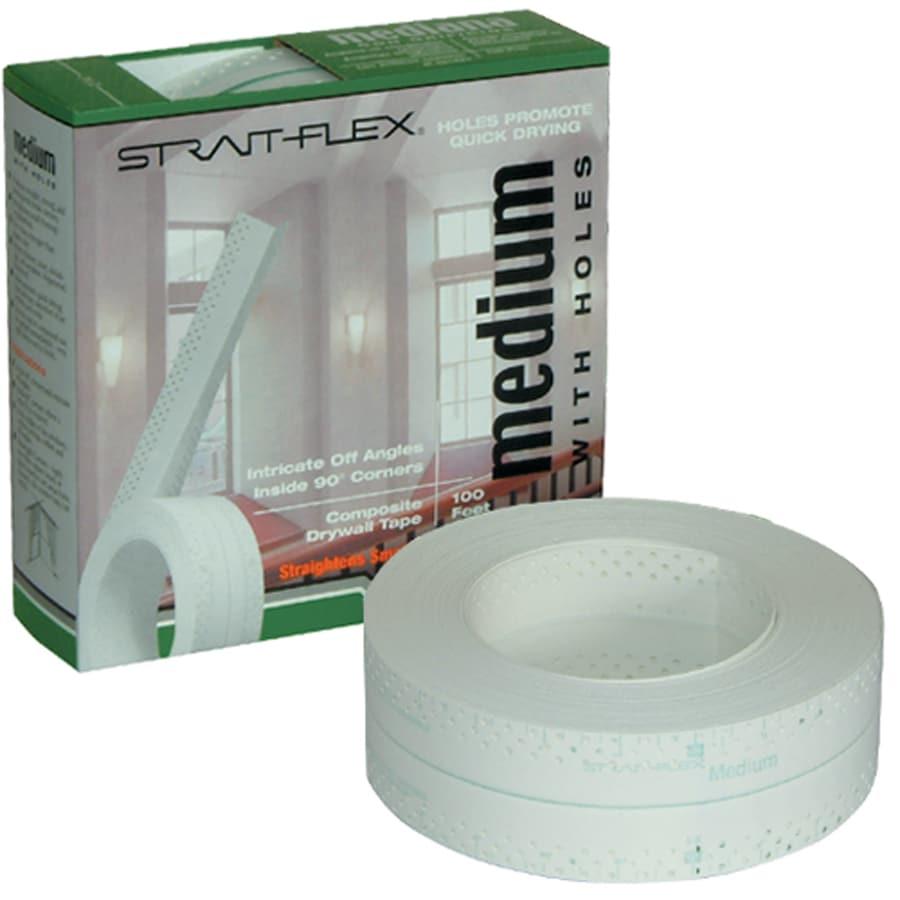 Strait Flex Drywall Tape : Shop strait flex in ft white joint tape at