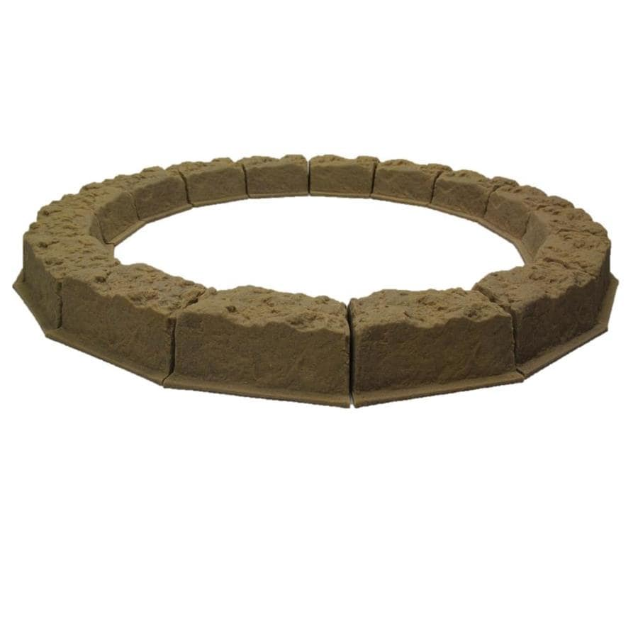 Dekorra Sandstone Edging Stone (Common 10-in x 5-in; Actual: 10-in x 5-in)