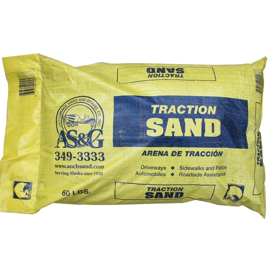Anchorage Sand & Gravel 60-lbs Traction Sand
