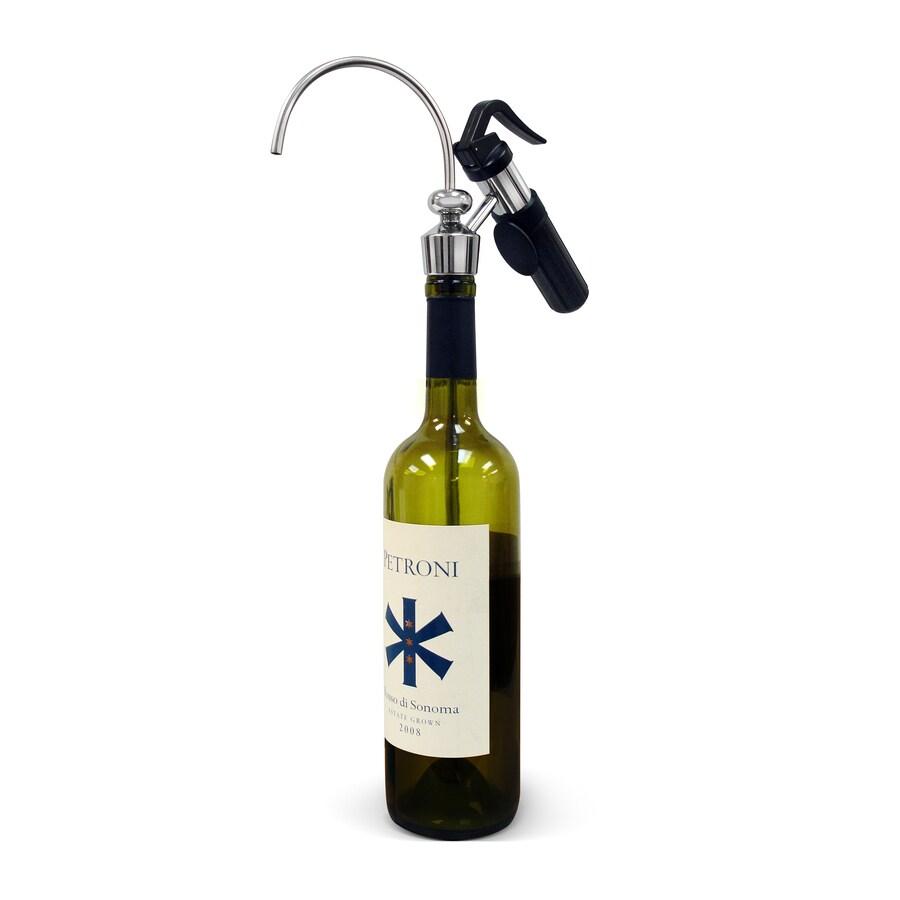 Vinotemp 1-Bottle Capacity Black Wine Cellar Cooling Unit at