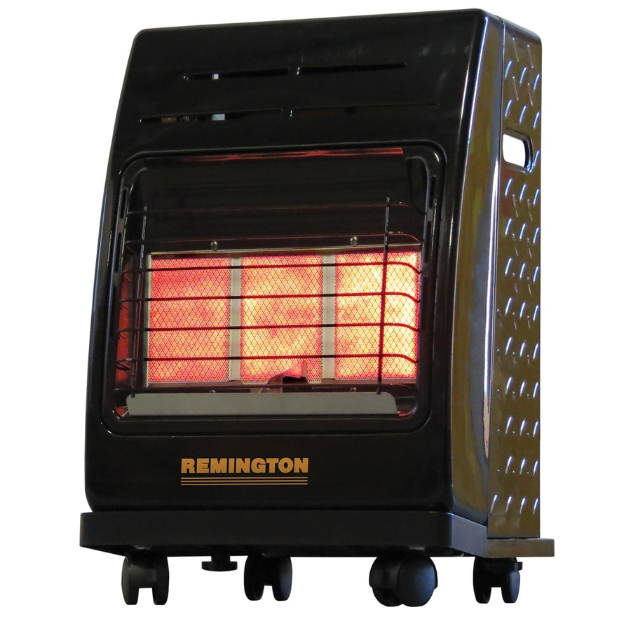 Shop Remington 18,000-BTU Portable Cabinet Propane Heater ...
