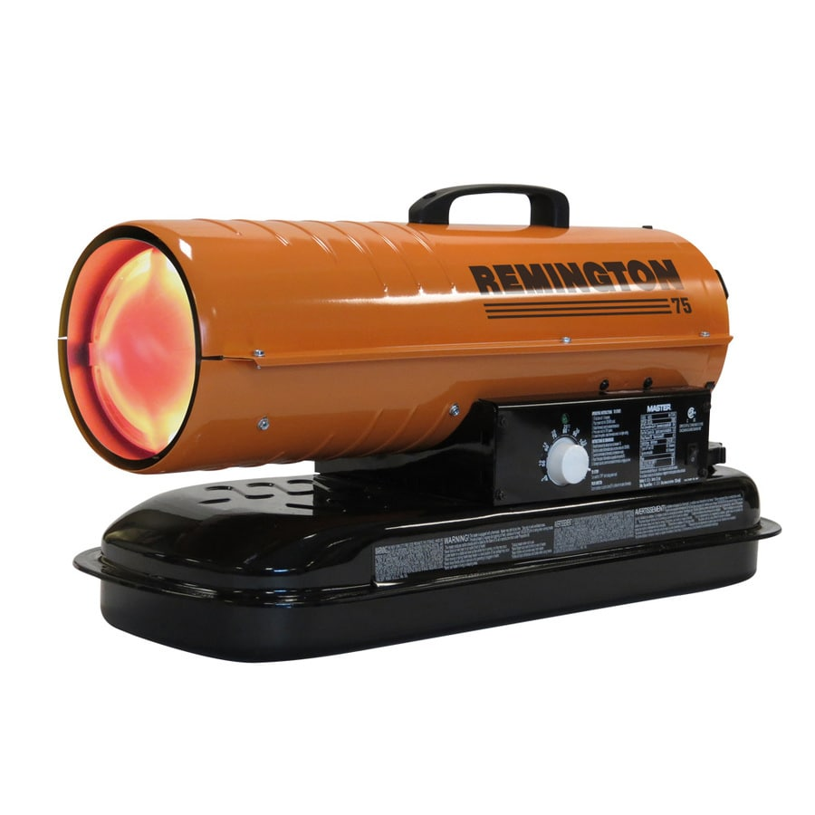 Shop remington 75 000 btu portable kerosene heater at for Build a house for 75000