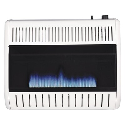 30000 Btu Wall Or Floor Mount Natural Gas Vent Free Convection Heater