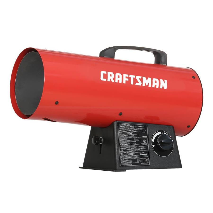 Forced Air Propane Heater >> Craftsman 60000 Btu Portable Forced Air Propane Heater At Lowes Com