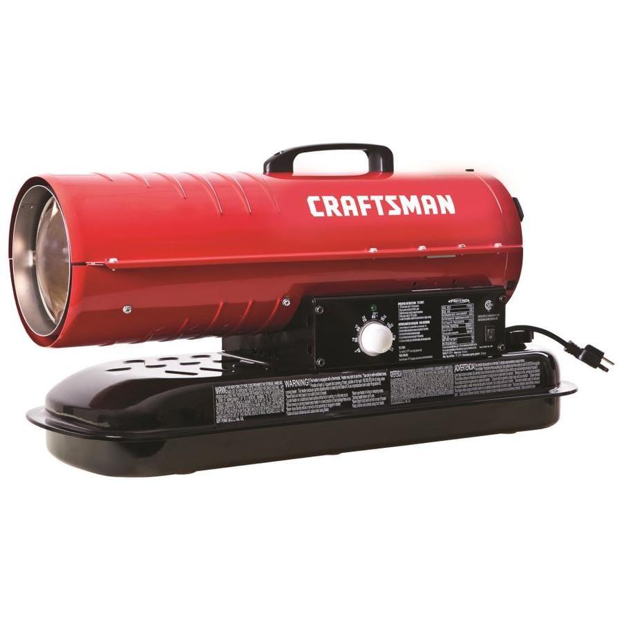 Craftsman 80 000 Btu Kerosene Diesel Forced Air Heater At