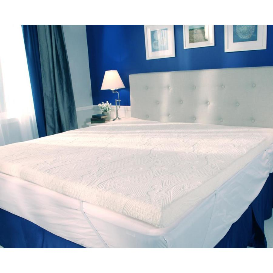 MyPillow Polyester Queen Mattress Topper at Lowes.com