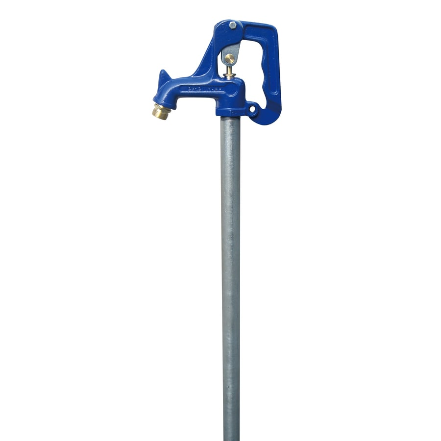 ProPlumber 6-ft Bury Depth 3/4-in Female Blue Brass Frost Proof Hydrant