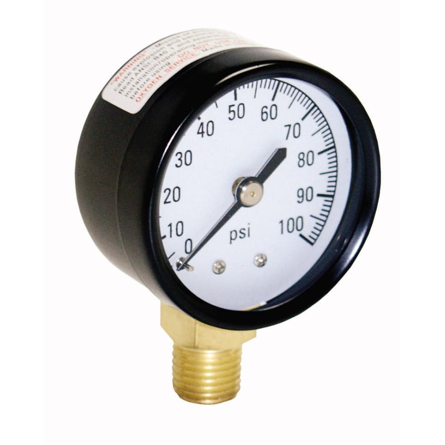 Shop Water Pump Accessories At Proplumber Pressure Switch Wiring Diagram Plastic Steel Gauge