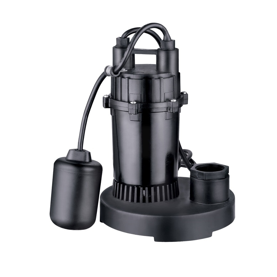 Utilitech 0 33 Hp Aluminum Submersible Sump Pump