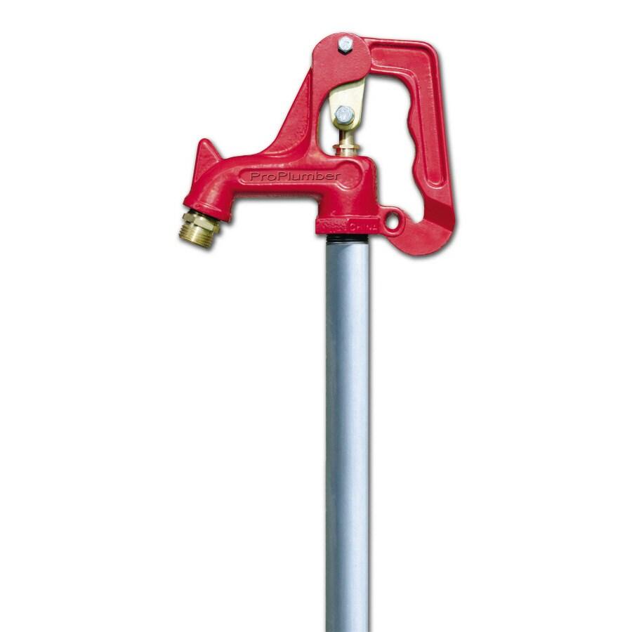 ProPlumber Brass 1-Way Full-Flow Water Shut-Off