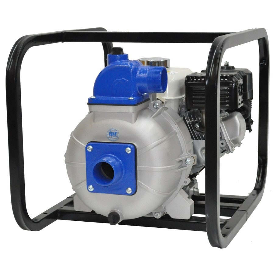 IPT 5-HP Cast Iron Gas-Powered Utility Pump