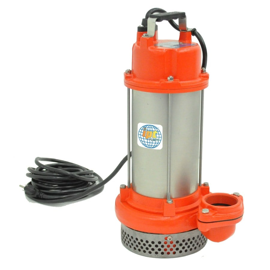 IPT 1-HP Stainless Steel Submersible Sump Pump