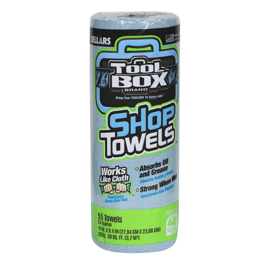 SELLARS 1-Roll Shop Towels