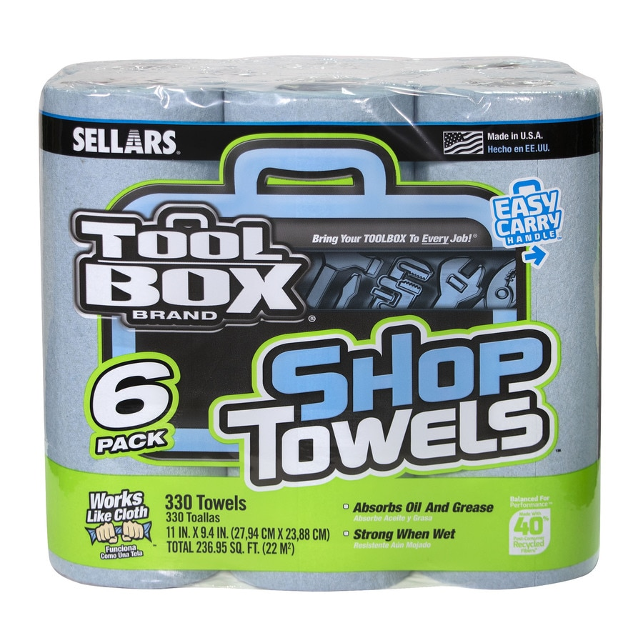 SELLARS 6-Pack Paper Towels