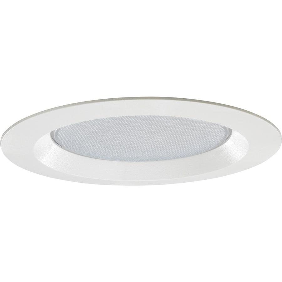 Juno White Shower Recessed Light Trim (Fits Housing Diameter: 6-in)