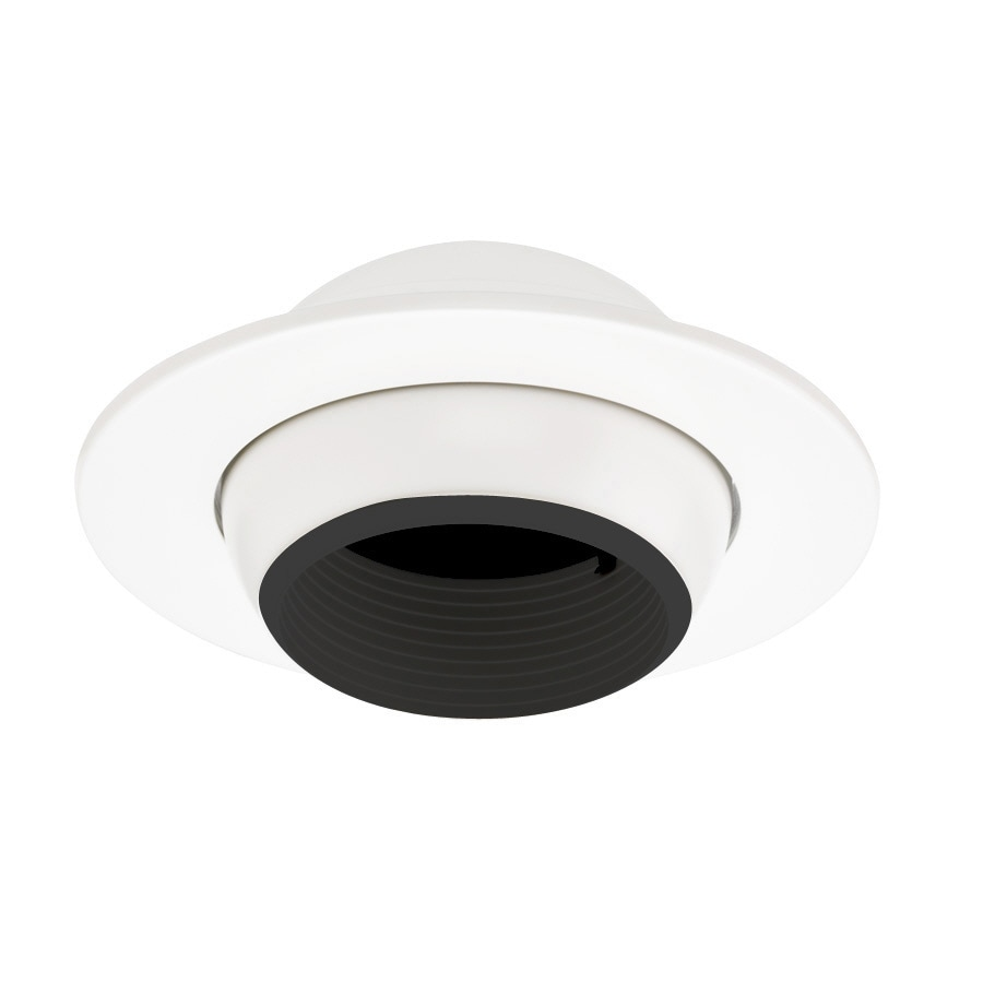 shop juno white eyeball recessed light trim fits housing. Black Bedroom Furniture Sets. Home Design Ideas