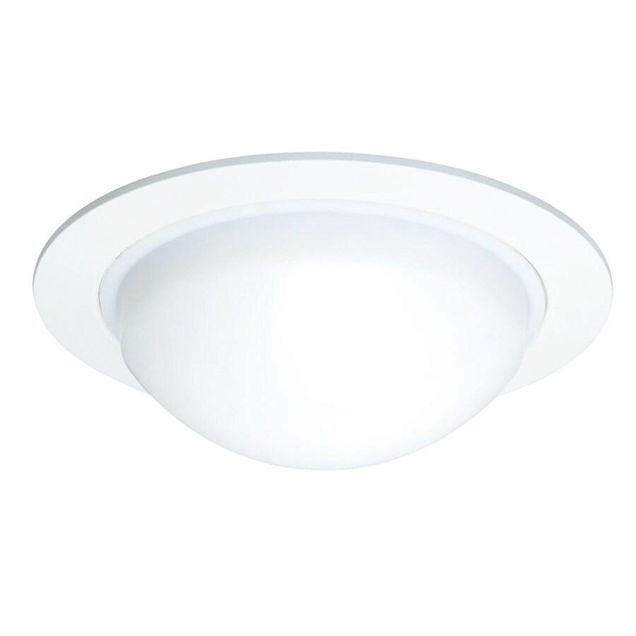 Juno White Shower Recessed Light Trim (Fits Housing Diameter: 5-in)