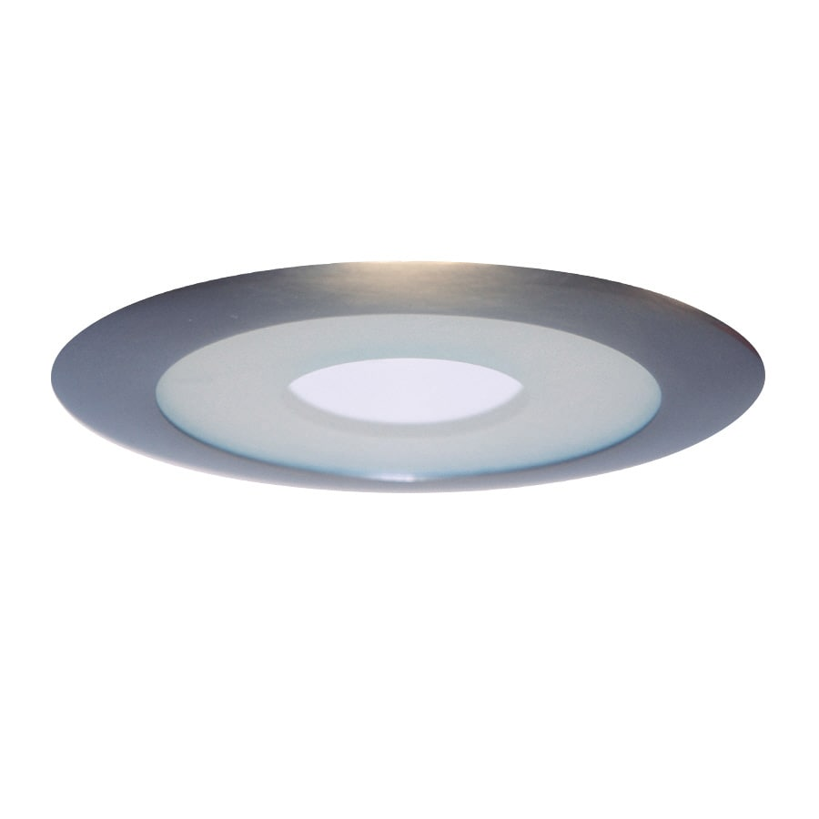 Recessed Lighting Housing For Shower : Juno satin chrome shower recessed light trim fits