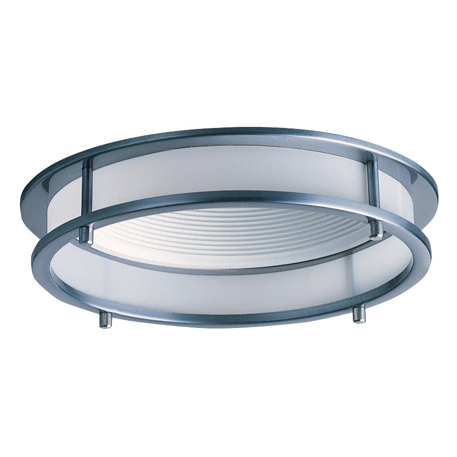 Juno Downlights Satin chrome Open Recessed Light Trim (Fits Housing Diameter: 6-in)