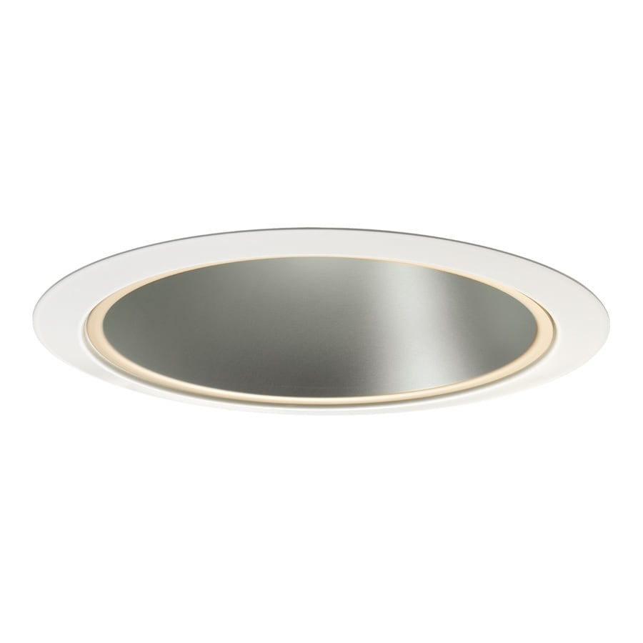 Shop Juno Haze Reflector White Trim Ring Open Recessed Light Trim Fits Hous