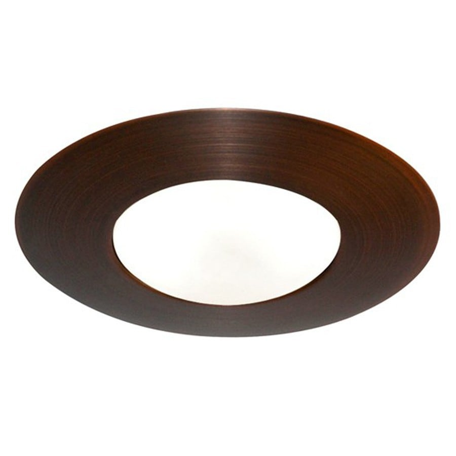 Juno Rubbed Bronze Open Recessed Light Trim (Fits Housing Diameter: 6-in)