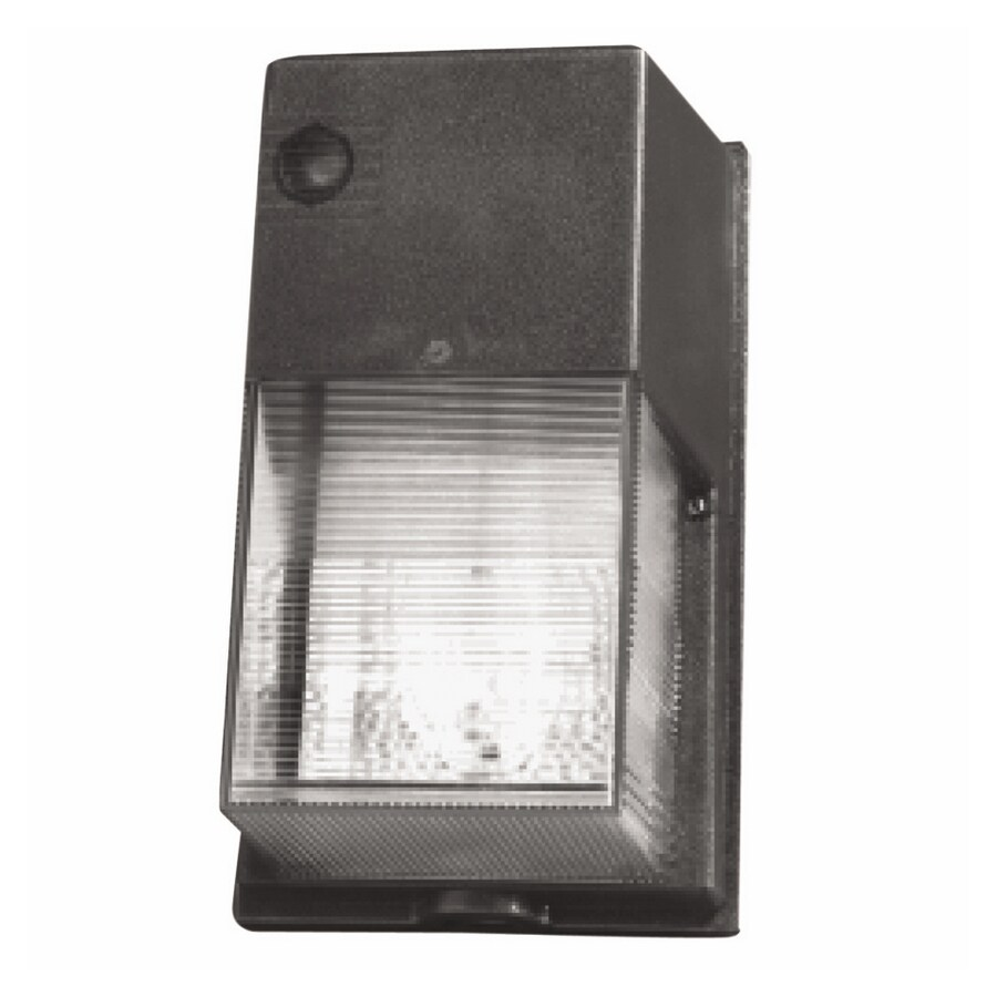 Utilitech 1-Head 70-Watt Bronze High-Pressure Sodium Dusk-to-Dawn Flood Light