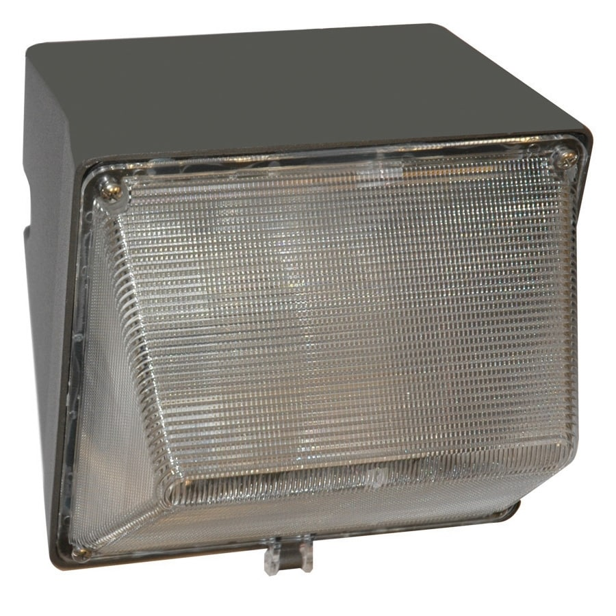 Utilitech 8.563-in 1-Head High-Pressure Sodium Gray Switch-Controlled Flood Light