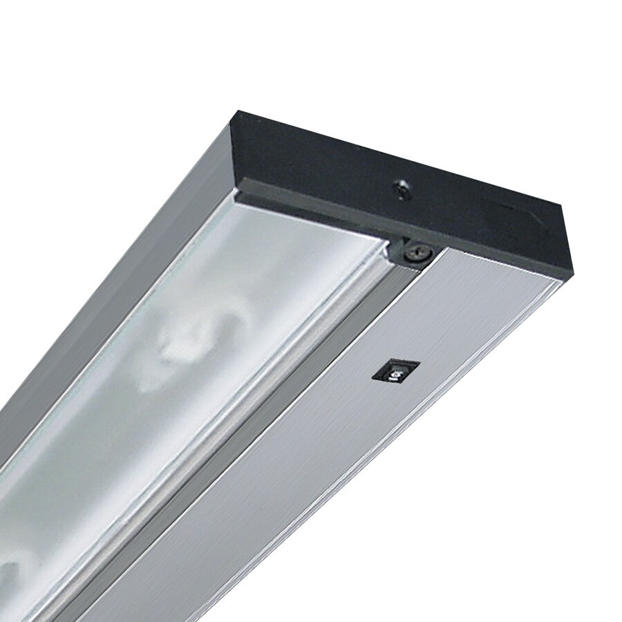 Shop Juno 12.43-in Hardwired/Plug-in Under Cabinet Fluorescent Light Bar at Lowes.com