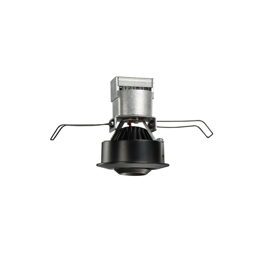 Recessed lighting location in kitchen : Juno mini led black integrated remodel recessed light