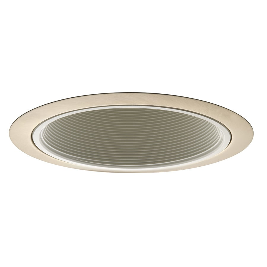 Shop juno brushed nickel baffle recessed light trim fits housing juno brushed nickel baffle recessed light trim fits housing diameter 6 in aloadofball Image collections