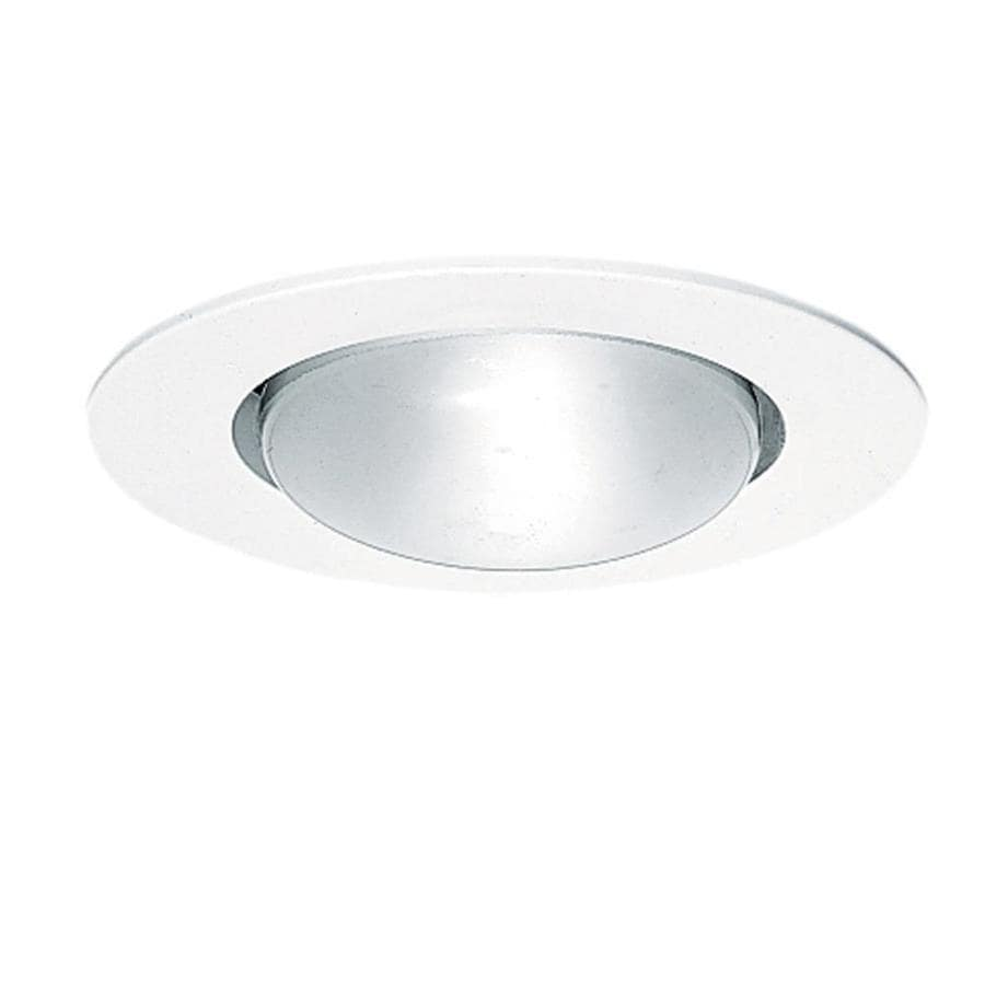 Juno White Open Recessed Light Trim (Fits Housing Diameter: 5-in)