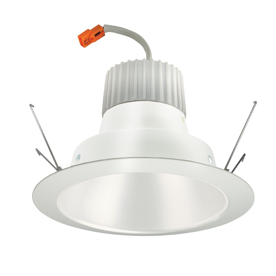 Juno 65-Watt Equivalent White Dimmable LED Recessed Retrofit Downlight (Fits Housing Diameter: 6-in)