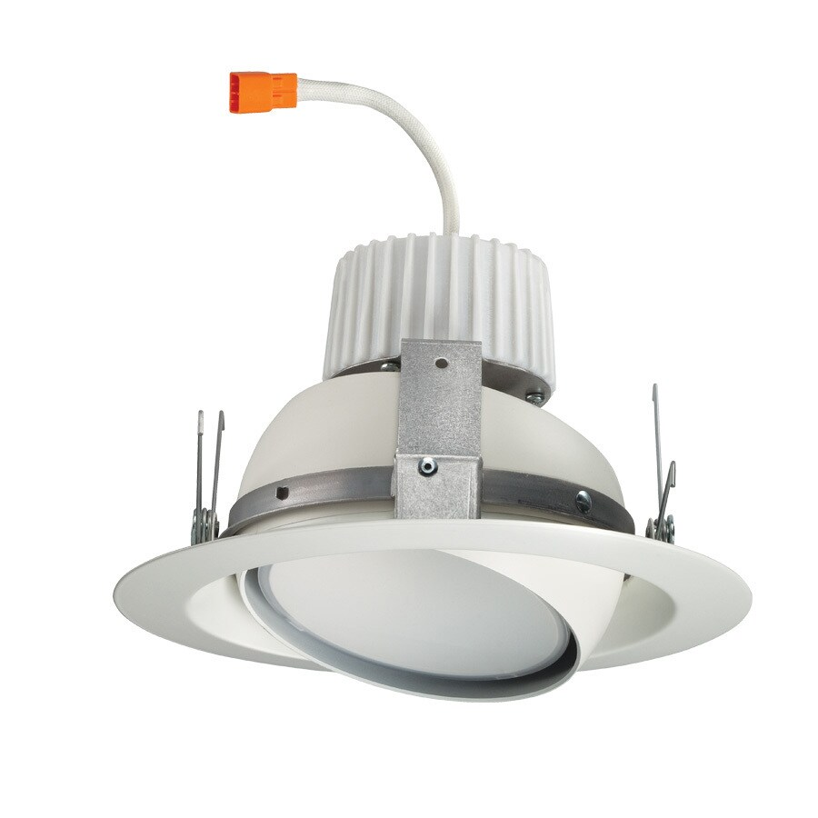 Juno 75-Watt Equivalent White Dimmable LED Recessed Retrofit Downlight (Fits Housing Diameter: 6-in)