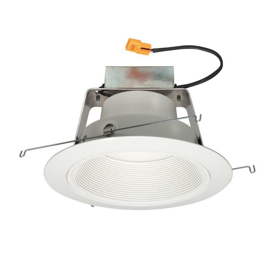 Shop Juno 65 Watt Equivalent White Dimmable LED Recessed Retrofit Downlight