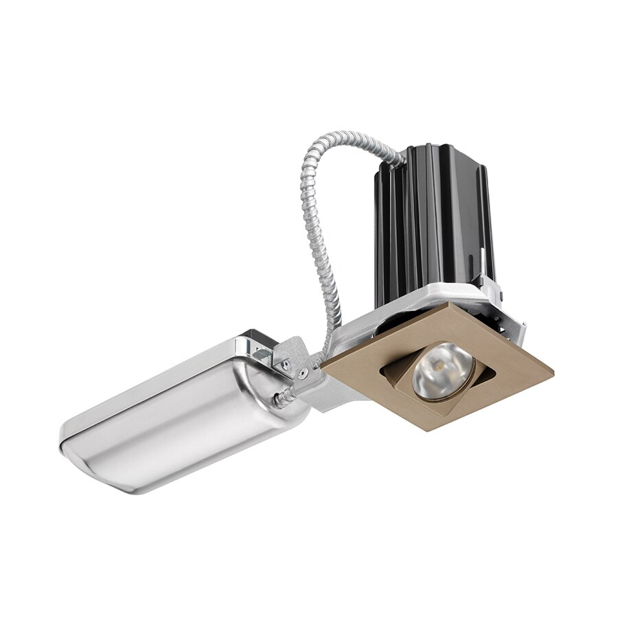 Juno Downlights Bronze LED Remodel And New Construction Recessed Light Kit (Fits Opening: 2-in)
