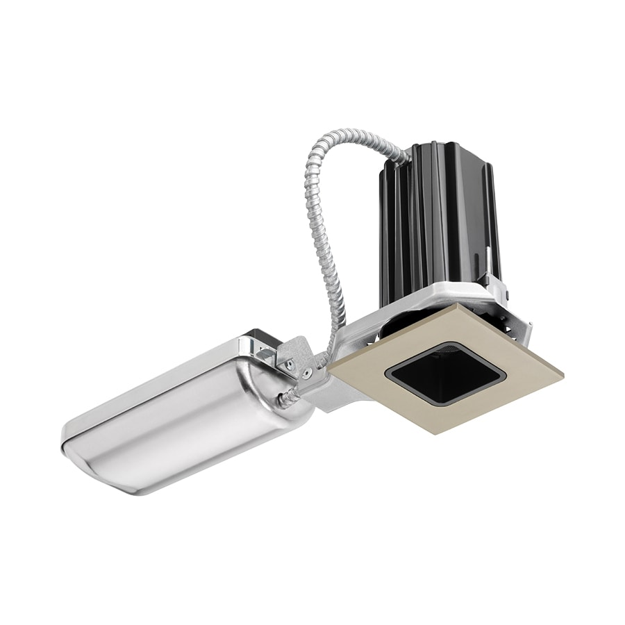 Juno Downlights Satin Nickel Integrated Remodel and New Construction Recessed Light Kit (Fits Opening: 2-in)
