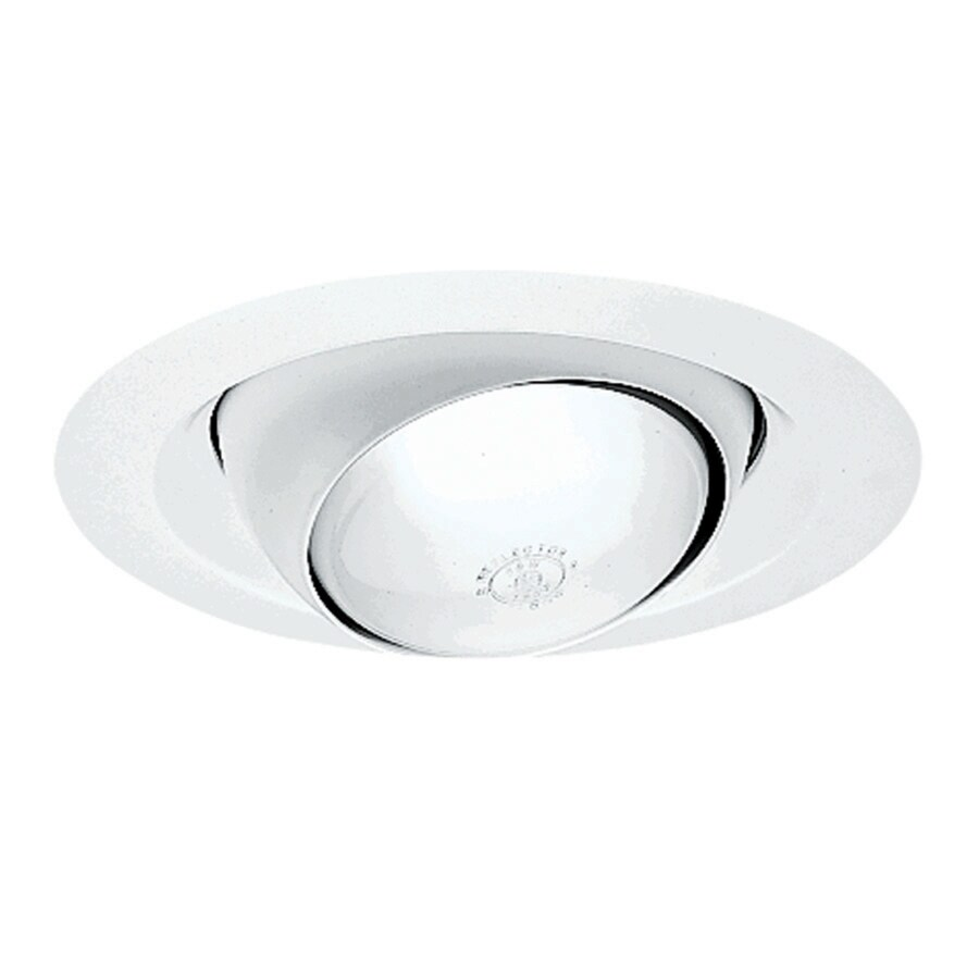 juno white eyeball recessed light trim fits housing diameter 6in