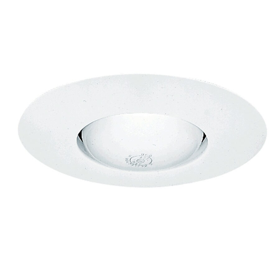 Juno White Open Recessed Light Trim (Fits Housing Diameter: 6-in)