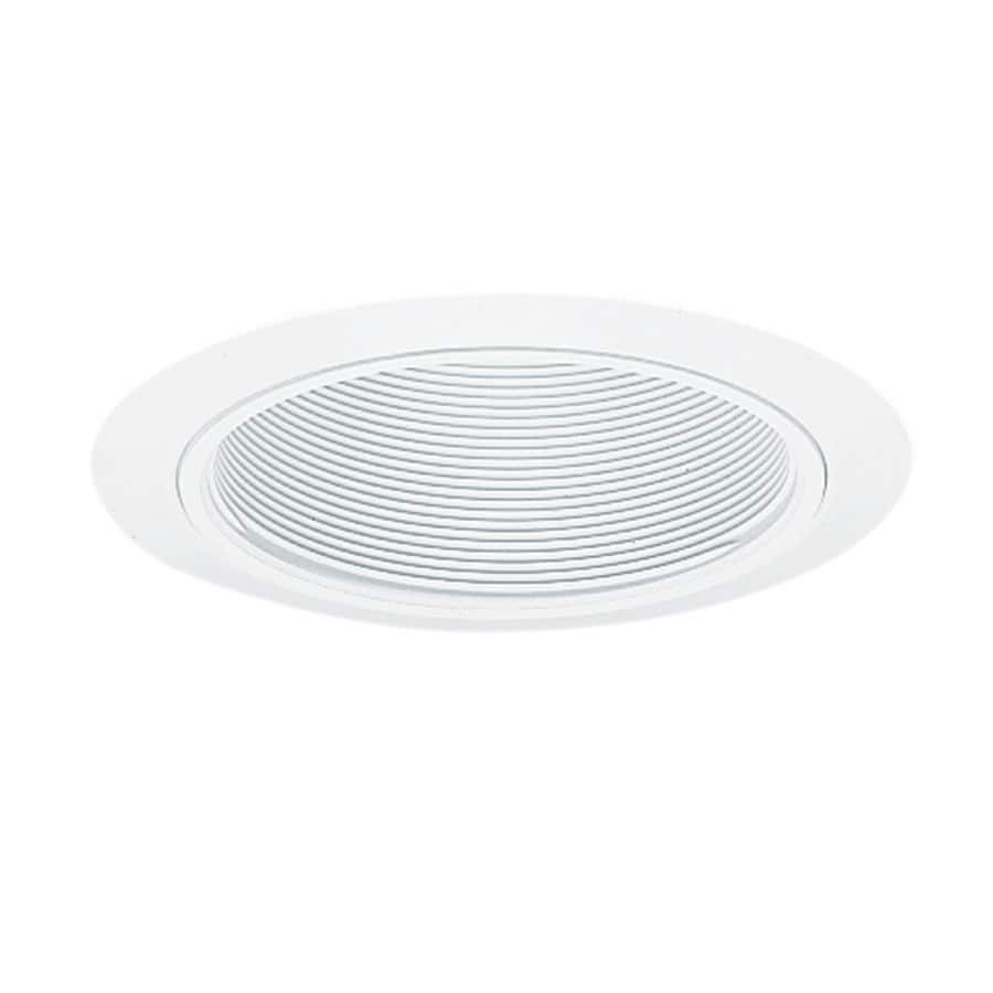 Juno 5 In White Baffle Recessed Light Trim In The Recessed Light Trim Department At Lowes Com