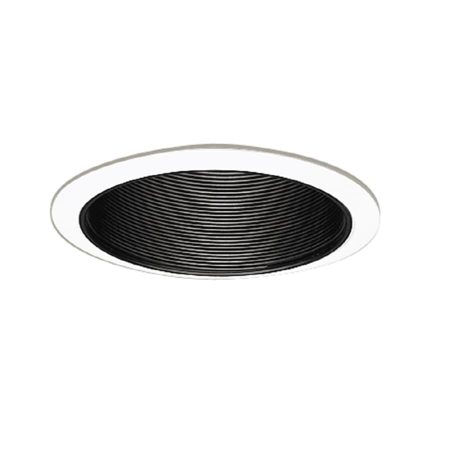 Halo Black Baffle Recessed Light Trim (Fits Housing Diameter: 6-in)