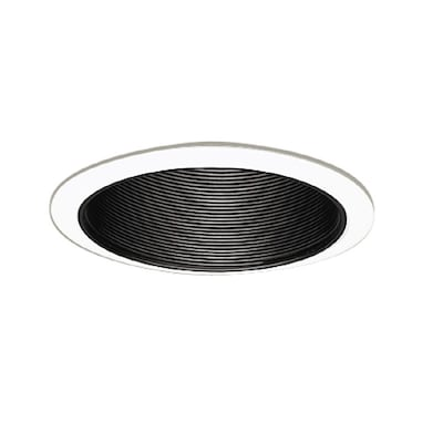 new product facc4 c397a Black Baffle Recessed Light Trim (Fits Housing Diameter: 6-in)